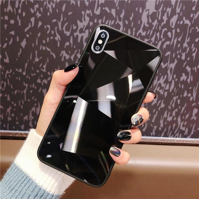 Diamond Texture Case for iPhone