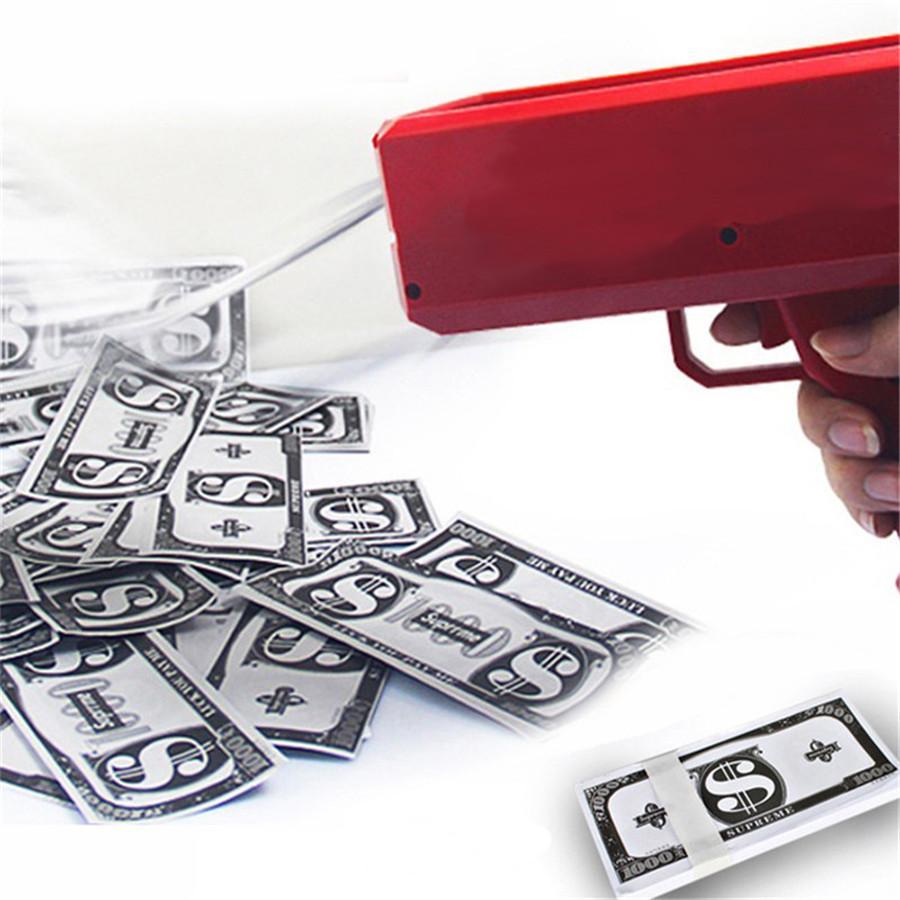Make It Rain Money Gun Supreme Cash Cannon